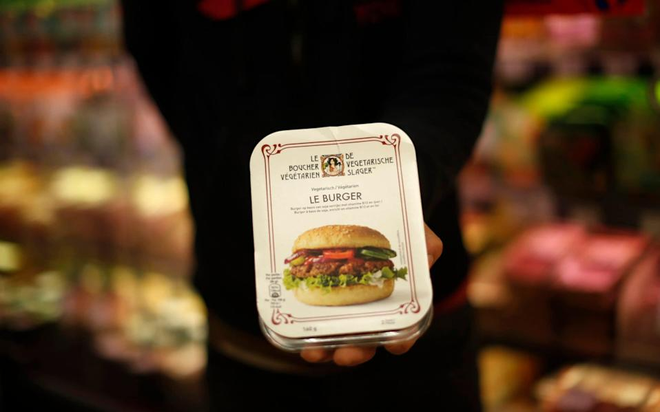 European lawmakers rejected Friday proposals that could have prevented plant-based products without meat from being labeled sausages or burgers - AP Photo/Francisco Seco