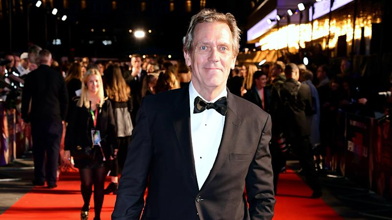 Hugh Laurie plays ambitious politician in first trailer for thriller Roadkill