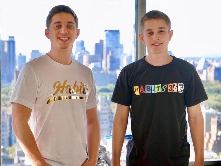 Habits 365 Founders Eli and Spencer Zied
