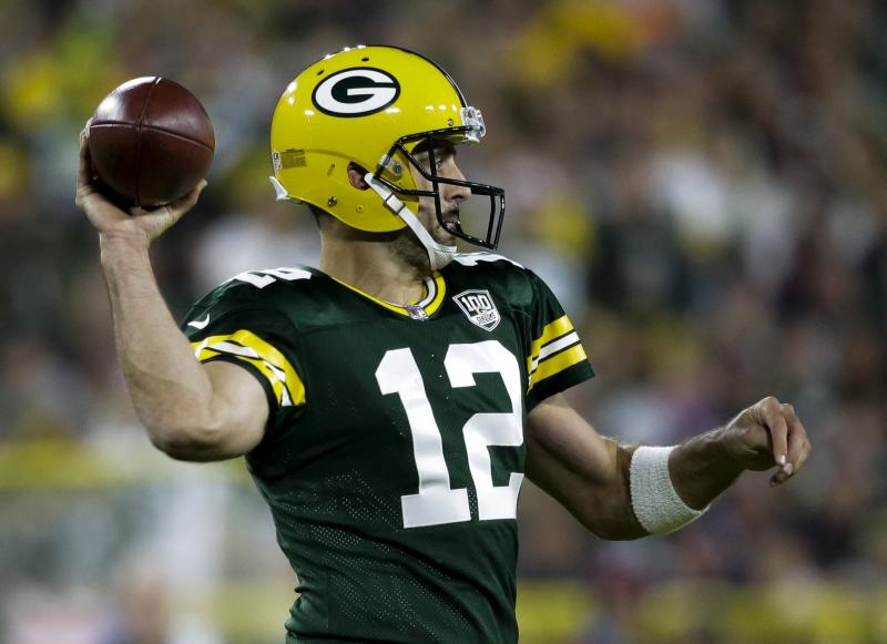 The Latest  Aaron Rodgers returns 8829a6b03