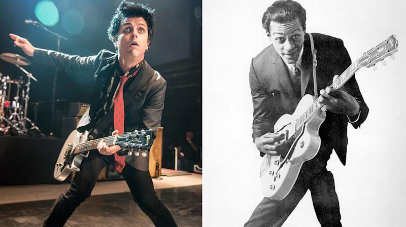 Watch Green Day Cover Chuck Berry's 'Johnny B. Goode' Live