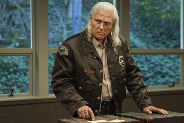 Michael Horse in a still from Twin Peaks. Photo: Suzanne Tenner/SHOWTIME