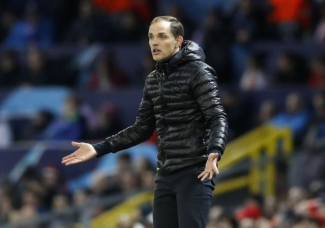 Tuchel was sacked at Paris St Germain boss only last month