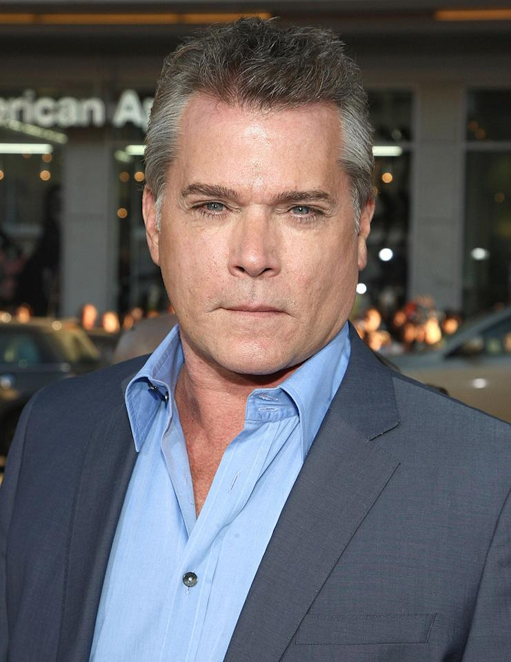 """<a href=""""http://movies.yahoo.com/movie/contributor/1800023967"""">Ray Liotta</a> at the Los Angeles premiere of <a href=""""http://movies.yahoo.com/movie/1810025224/info"""">Observe and Report</a> - 04/06/2009"""