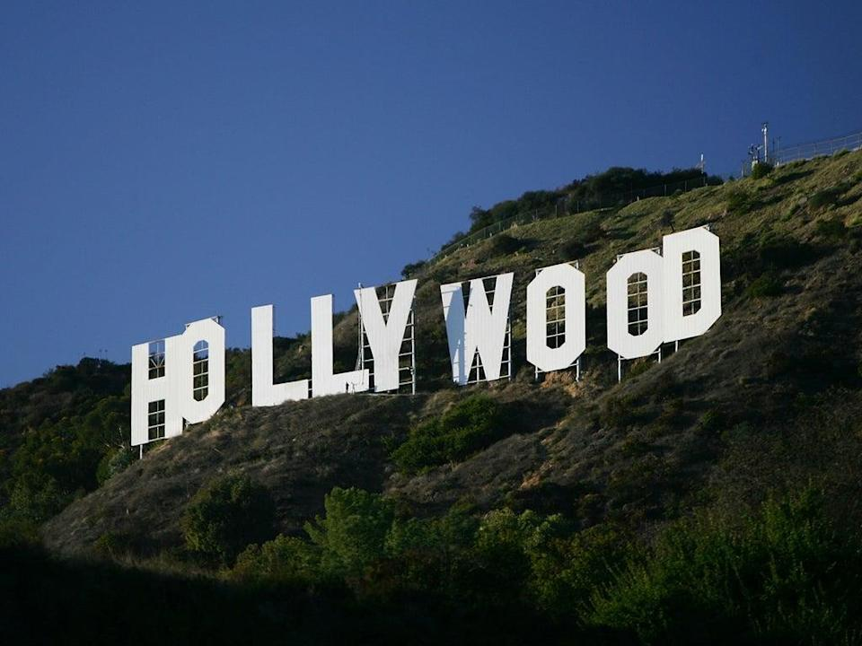 The Hollywood sign in Los Angeles, California (David McNew/Getty Images)