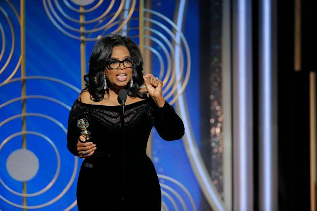 The woman of the hour delivered an unforgettable speech. (Photo: Getty Images)
