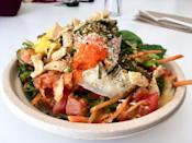 """<p><strong><a href=""""https://www.yelp.com/biz/hometown-cafe-and-poké-bar-providence"""" rel=""""nofollow noopener"""" target=""""_blank"""" data-ylk=""""slk:Hometown Cafe & Poké Bar"""" class=""""link rapid-noclick-resp"""">Hometown Cafe & Poké Bar</a>, Providence</strong><br></p><p>""""I can't say enough about this place. The food is fresh, affordable, and healthy. The business is environmentally conscious and socially aware. The owners are sweet and ambitious. I love everything about this place."""" – Yelp user <a href=""""https://www.yelp.com/user_details?userid=CUfFGtezQ_23BoNMR7zs7g"""" rel=""""nofollow noopener"""" target=""""_blank"""" data-ylk=""""slk:Linda A."""" class=""""link rapid-noclick-resp"""">Linda A.</a></p><p>Photo: Yelp/<a href=""""https://www.yelp.com/user_details?userid=_WWPNS8YzOH2q02t9XNfxQ"""" rel=""""nofollow noopener"""" target=""""_blank"""" data-ylk=""""slk:Ann D."""" class=""""link rapid-noclick-resp"""">Ann D.</a></p>"""
