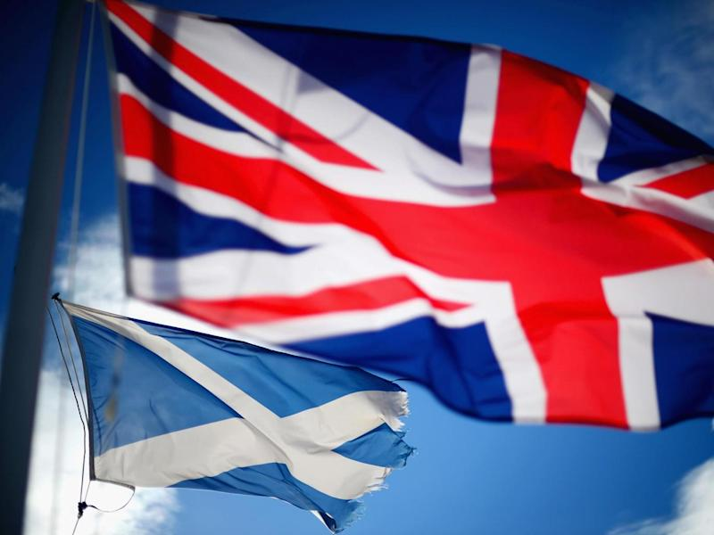 Scotland will have to apply to re-join the EU if it leaves the UK (Getty)