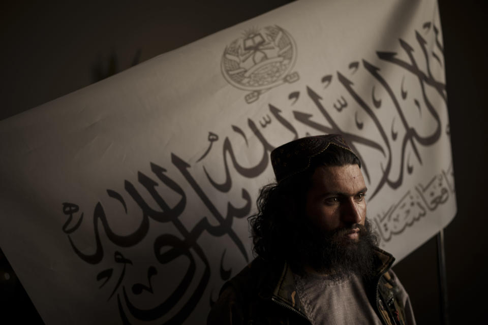 The interpreters fear persecution from the Taliban for their service to the UK (Felipe Dana/AP)