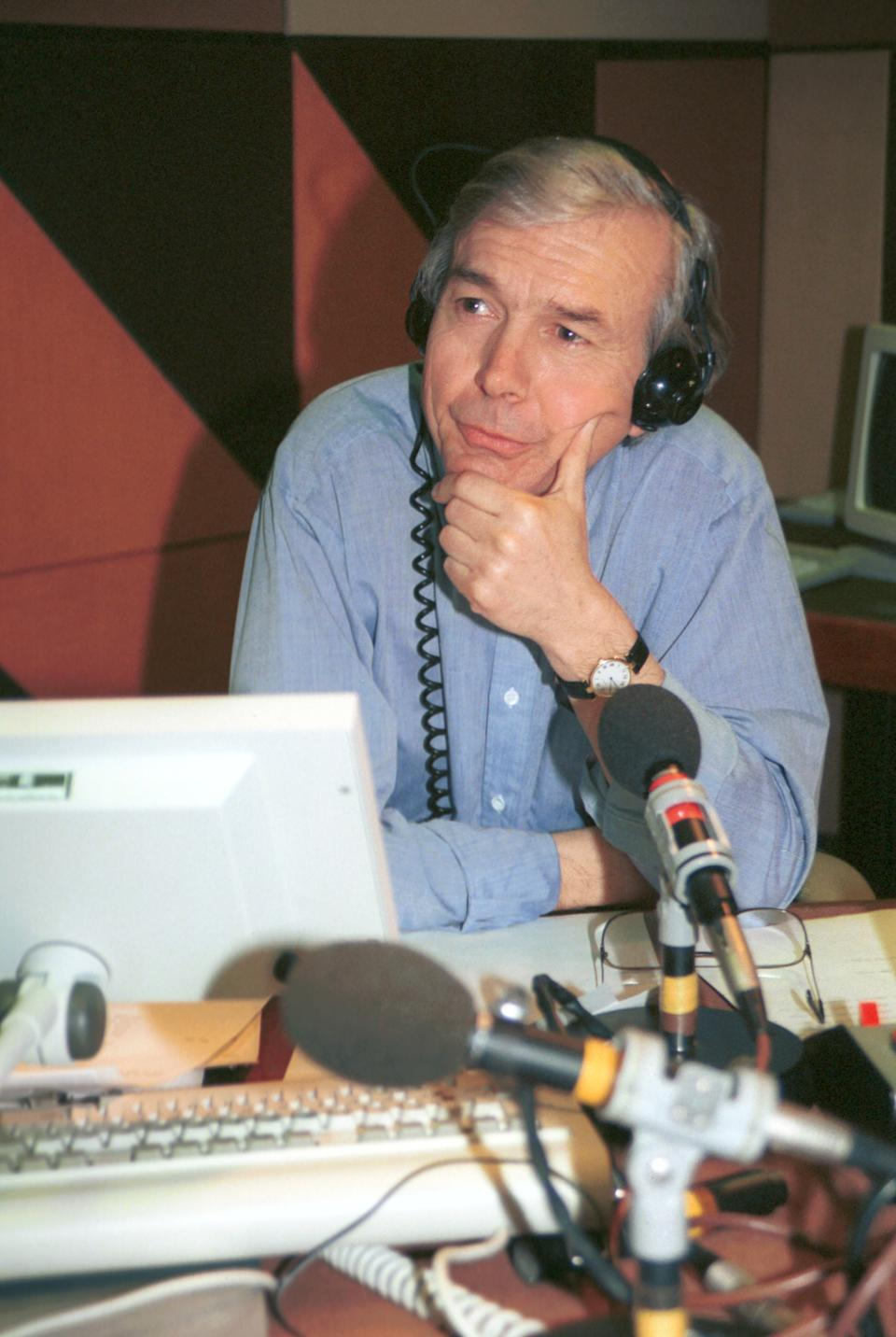 Today presenter and journalist John Humphrys (Photo by Jeff Overs/BBC News & Current Affairs via Getty Images)