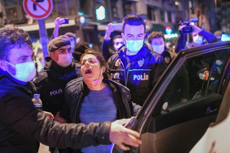More than 170 people have been arrested in the latest anti-government protest