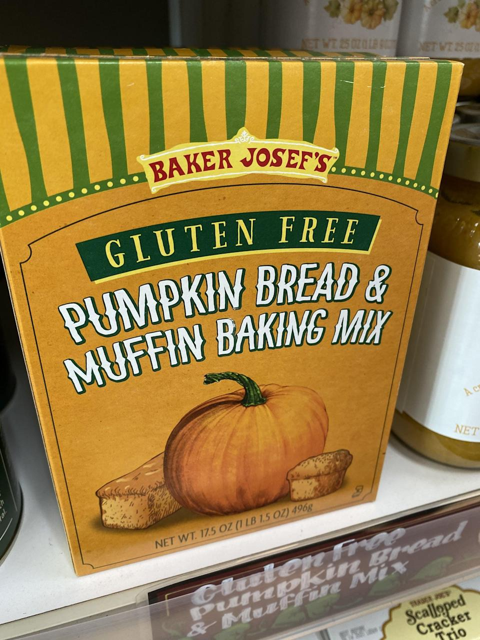 <p>This gluten-free baking mix makes it so easy to whip up a loaf of pumpkin bread or muffins.</p>