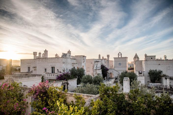 """<div class=""""caption""""> Italy's Borgo Egnazia will implement a number of new hygiene and safety guidelines upon reopening. </div> <cite class=""""credit"""">Photo: Courtesy of Borgo Egnazia</cite>"""