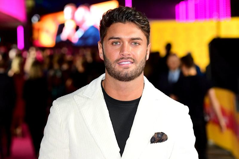 Former Love Island contestant Mike Thalassitis who died aged 26 (PA)