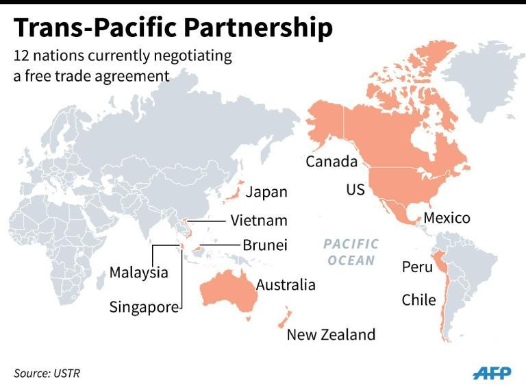 controversial trans pacific partnership agreement - 768×572