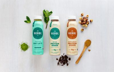 REBBL launches Yerba Mate Latte, Mint Chip Protein and Hazelnut Chocolate Protein flavors.