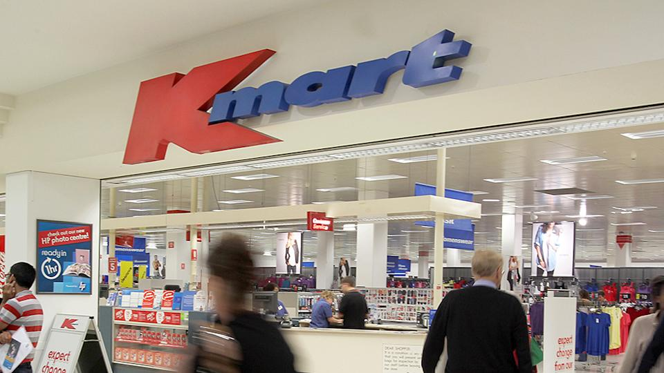 Image of Kmart store in Australia budget buys