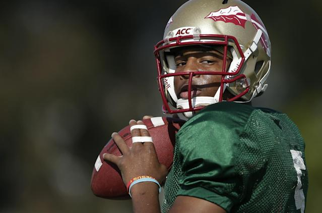 Florida State quarterback Jameis Winston will not play Saturday night against Clemson