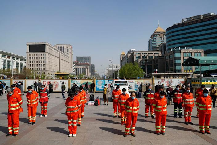 china street cleaners silence