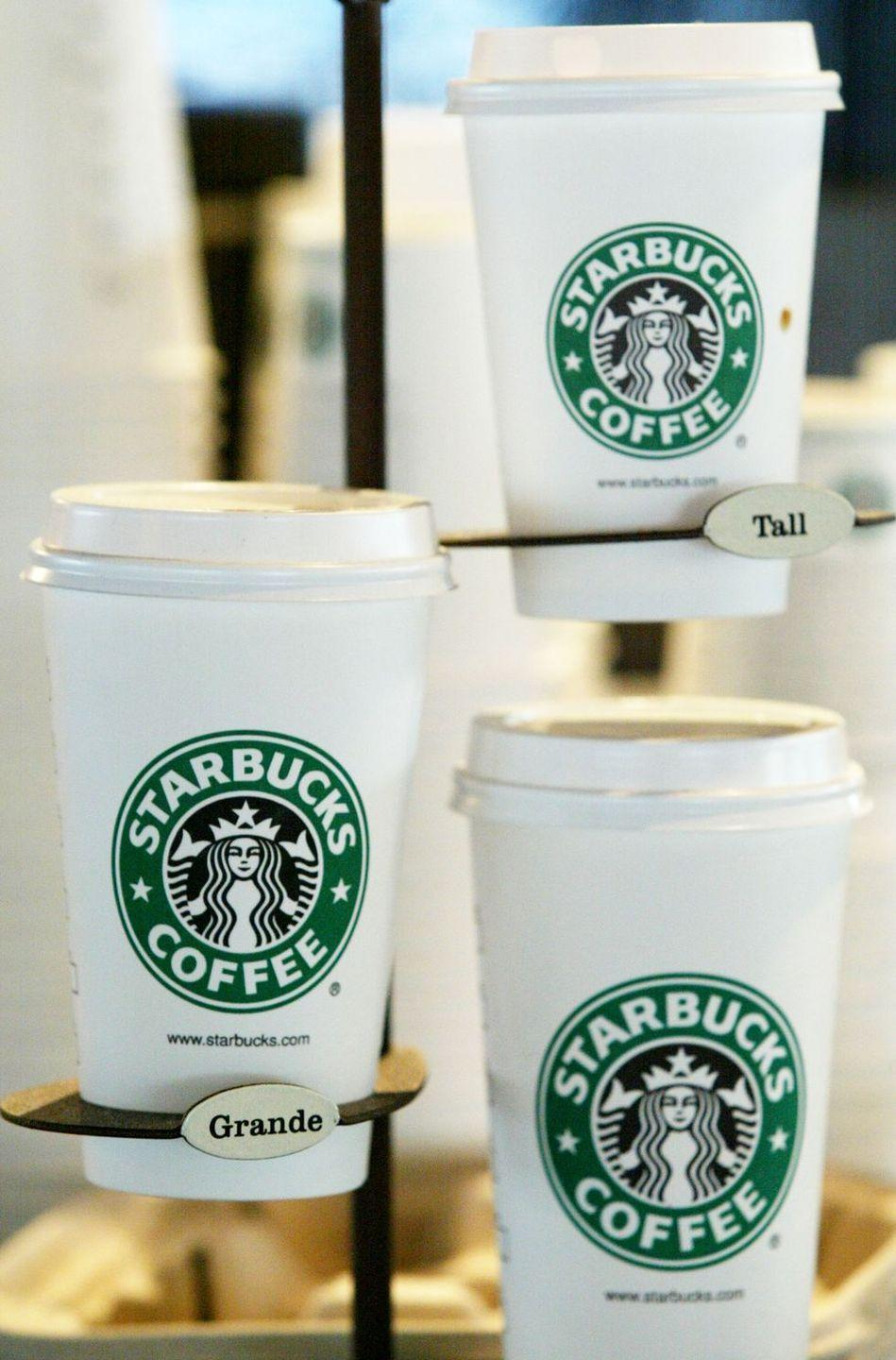 <p>As a way to solidify the brand's unique culture, the company created a system that was different from your average coffee shop—starting with the sizes. Instead of small, medium, and large, Starbucks served tall, grande, and venti beverages.</p>