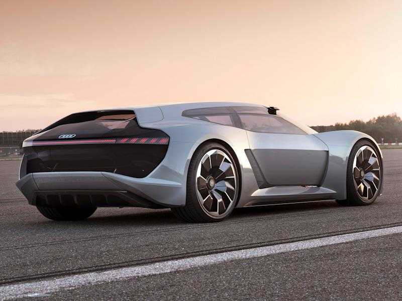 audi just gave us a look at its 764 horsepower electric sports car