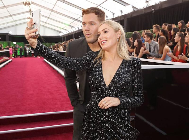 Colton Underwood, Cassie Randolph, 2019 E! People's Choice Awards, Candids