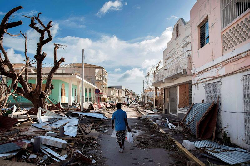 Six months after the passing of hurricanes Irma and Maria, St. Martin is slowly rebuilding, but the scars of the most powerful hurricane ever known in the West Indies remain clearly visible.
