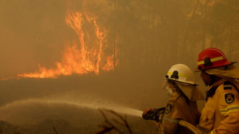 A catastrophic fire danger is forecast for the Greater Sydney and Greater Hunter in NSW on Tuesday