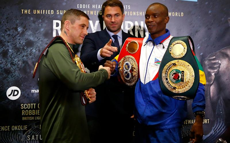 Burns faces an unbeaten, rangy southpaw in Indongo - REUTERS