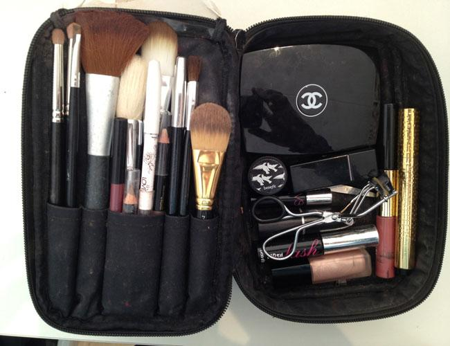 Celebrity Personal Trainer Hayley Newton Shows Us What's Inside Her Make-Up Bag