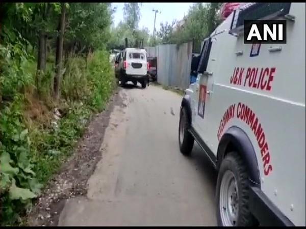 Encounter between security forces and terrorists in the Hanjipora area of Shopian district of Jammu and Kashmir.