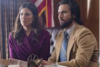 """<p>Fans of the teary NBC drama <em>This Is Us</em> know they must keep the tissues handy for several more seasons to come. Following the finale of season three in spring 2019, the show was renewed through season six. This puts us at season five, which should (fingers crossed) hopefully debut in fall 2020. All the mainstays are <a href=""""https://www.goodhousekeeping.com/life/entertainment/a26308011/this-is-us-ending/"""" rel=""""nofollow noopener"""" target=""""_blank"""" data-ylk=""""slk:expected to return"""" class=""""link rapid-noclick-resp"""">expected to return</a>, along with some fresh faces. </p>"""