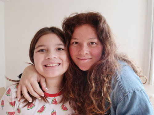 Ellie is Jake's daughter with actress Andi Eigenmann