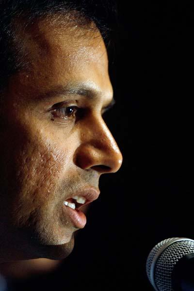 Dravid was the first non-Australian selected to deliver the Sir Don Bradman Oration. His speech that was made in Canberra in December 2011, dealt with the game's history, current concerns and uncertain future. It won accolades for questioning the 'mad merry-go-round' that cricket finds itself in due to scheduling by administrators.