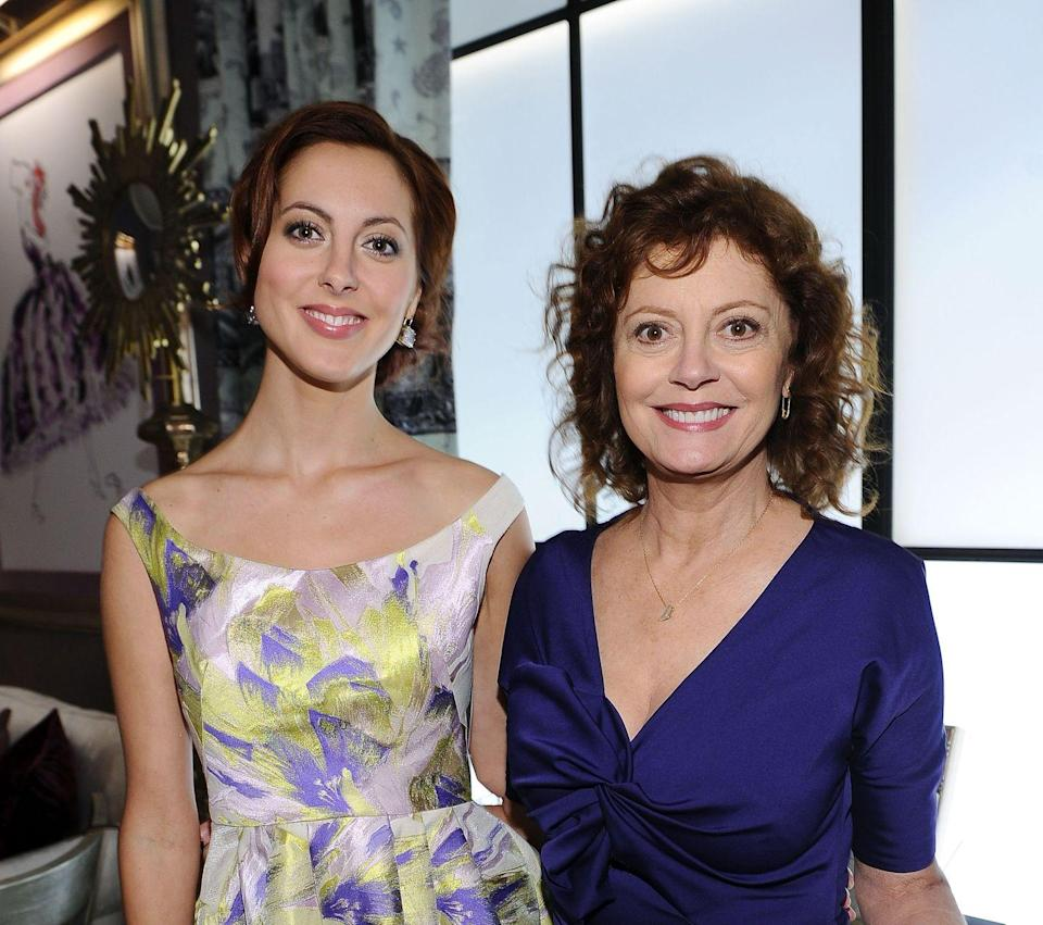 """<p><strong>Famous parent(s)</strong>: actress Susan Sarandon and filmmaker Franco Amurri<br><strong>What it was like</strong>: """"[My childhood] was wonderful. We had a lot of great experiences, we were able to travel a lot and I feel really grateful for that,"""" she's <a href=""""http://us.hellomagazine.com/celebrities/1201510168623/eva-amurri-on-having-more-children-and-family-traditions-with-susan-sarandon/"""" rel=""""nofollow noopener"""" target=""""_blank"""" data-ylk=""""slk:said"""" class=""""link rapid-noclick-resp"""">said</a><em><em><em><em>.</em></em></em> </em>""""At the end of the day we grew up like any other kids with ups and downs that any family has. My parents were just, like, parents. I know that it was different—but because it was all I knew, I can't really speak to how.""""</p>"""