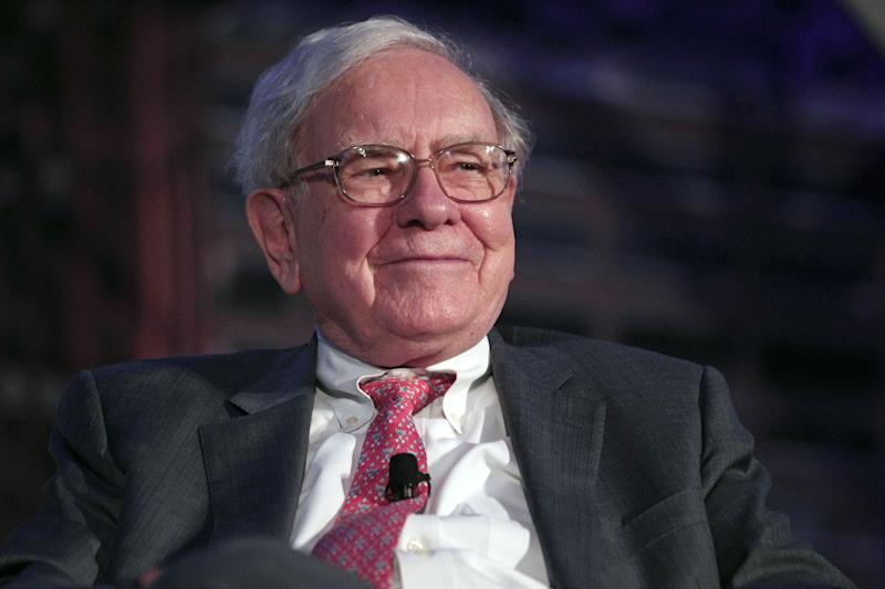 Patient: American investor Warren Buffett (Picture: Bill Pugliano/Getty Images): Bill Pugliano/Getty Images