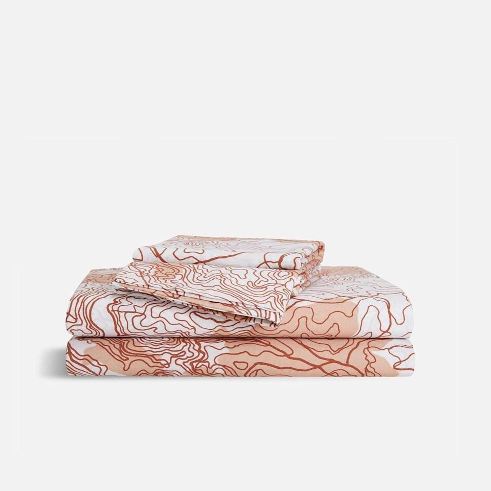 """<p><strong>Brooklinen</strong></p><p>brooklinen.com</p><p><strong>$143.10</strong></p><p><a href=""""https://go.redirectingat.com?id=74968X1596630&url=https%3A%2F%2Fwww.brooklinen.com%2Fproducts%2Fluxe-core-sheet-set&sref=https%3A%2F%2Fwww.redbookmag.com%2Flife%2Fg34655387%2Ftwenty-something-gifts%2F"""" rel=""""nofollow noopener"""" target=""""_blank"""" data-ylk=""""slk:Shop Now"""" class=""""link rapid-noclick-resp"""">Shop Now</a></p><p>Because of the pandemic, millions of people have been spending more time at home than ever before. The gift of Brooklinen sheets will make time home that much more enjoyable to binge watch your favorite Netflix show, and even for a better night's sleep. The Luxe Sateen Sheets are a 480-thread count and are a sight when paired with a matching duvet cover. </p>"""