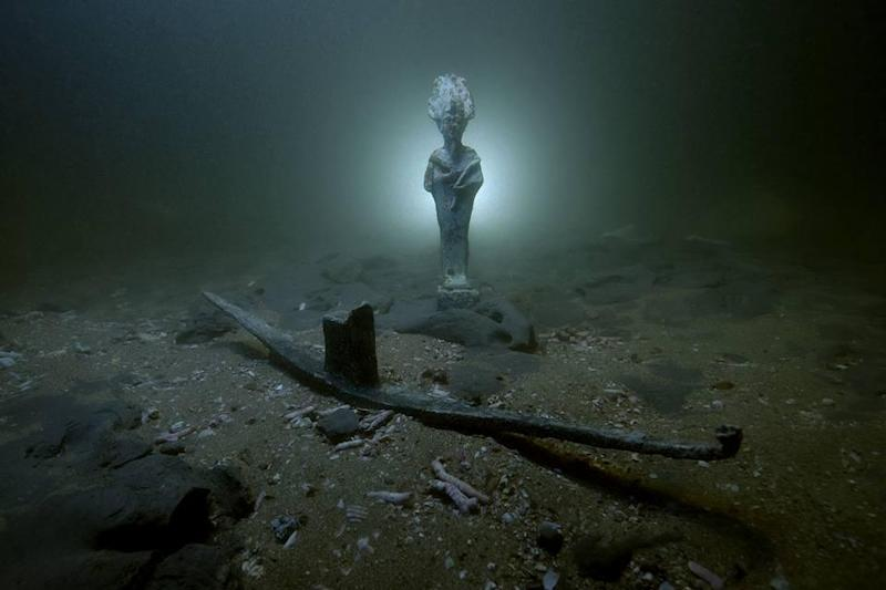 An Egyptian mission has discovered ships belonging to the Romans