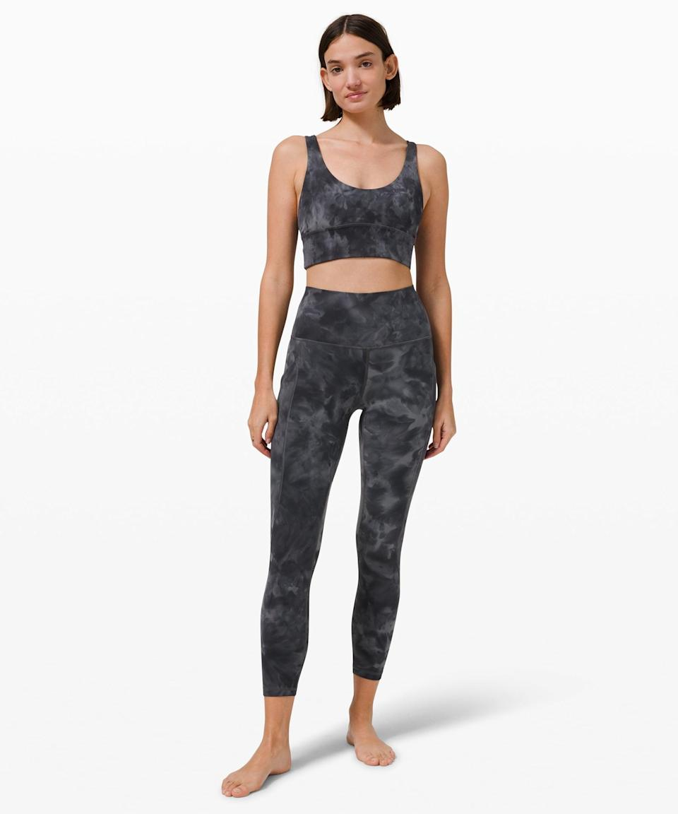 <p>This <span>Lululemon Align High Rise Pant with Pockets</span> ($128) and <span>Align Reversible Bra</span> ($58) is buttery soft and will take you seamlessly from the yoga mat to the grocery store.</p>