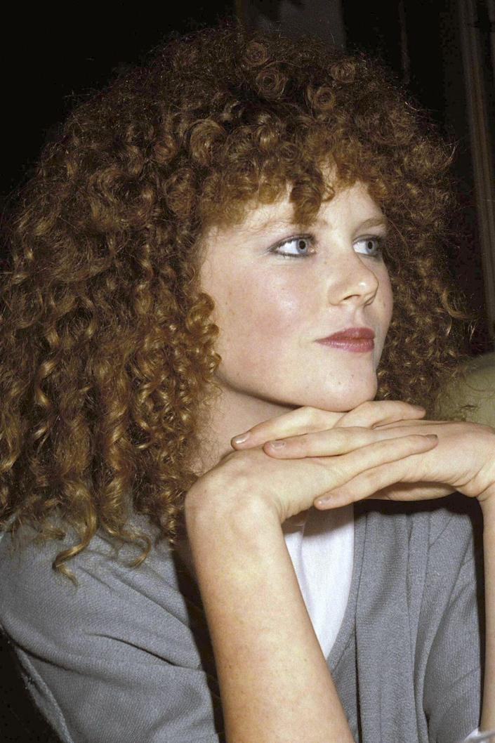 <p>The Oscar winner started her career with amazing ginger curls, but has opted for a straight blonde style in recent years.</p>