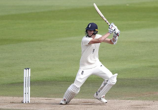 Zak Crawley made an eight-ball duck on his return to first-class cricket (Alastair Grant/PA)