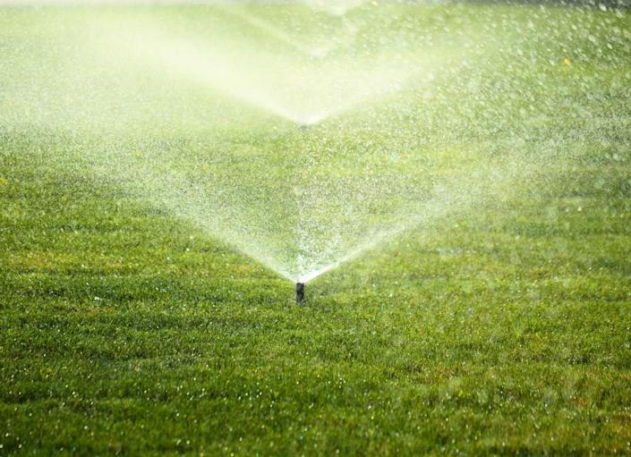 """<body> <p><a rel=""""nofollow noopener"""" href="""" http://www.bobvila.com/articles/watering-the-lawn/#.VW9hFM9ViT4?bv=yahoo"""" target=""""_blank"""" data-ylk=""""slk:Watering lawns"""" class=""""link rapid-noclick-resp"""">Watering lawns</a> costs a lot of cash—up to $200 per month per acre. Not only that, but dwindling water supplies and the resulting restrictions in many areas of the country mean there's not much to waste on thirsty lawns. Here's where artificial turf offers a solution: For every square foot of natural grass replaced, 55 gallons of water can be saved every year. That means you'll still get the lush, green look you want, all while conserving valuable water resources.</p> <p><strong>Related: <a rel=""""nofollow noopener"""" href="""" http://www.bobvila.com/slideshow/artificial-turf-7-reasons-to-consider-the-new-grass-alternative-2412#.VW9ibs9ViT5?bv=yahoo"""" target=""""_blank"""" data-ylk=""""slk:Artificial Turf—7 Reasons to Consider the New &quot;Grass&quot; Alternative"""" class=""""link rapid-noclick-resp"""">Artificial Turf—7 Reasons to Consider the New """"Grass"""" Alternative</a> </strong> </p> </body>"""