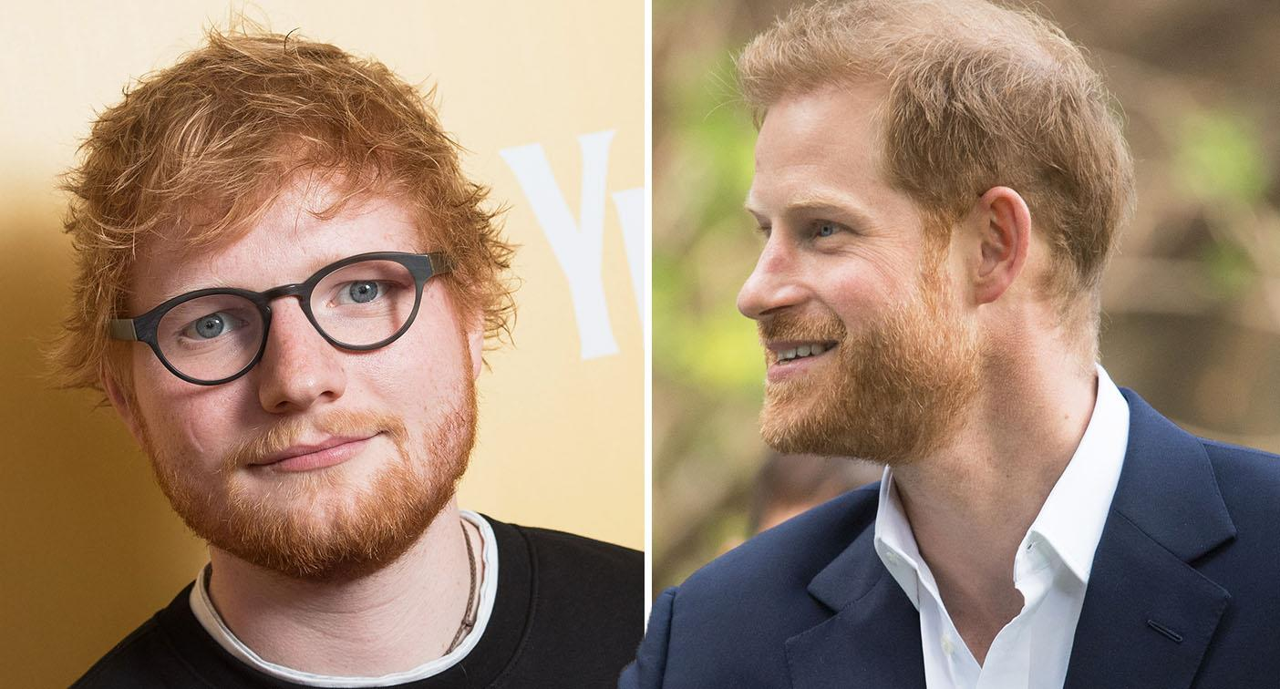 Prince Harry: Ed Sheeran will collaborate with the royal for a new campaign. [Photo: Getty]