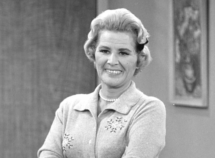 """Actress Rose Marie, who spent 90 years in show business but was best known for playing wisecracking Sally Rogers on """"The Dick Van Dyke Show,"""" died on Dec. 28, 2017. She was 94."""