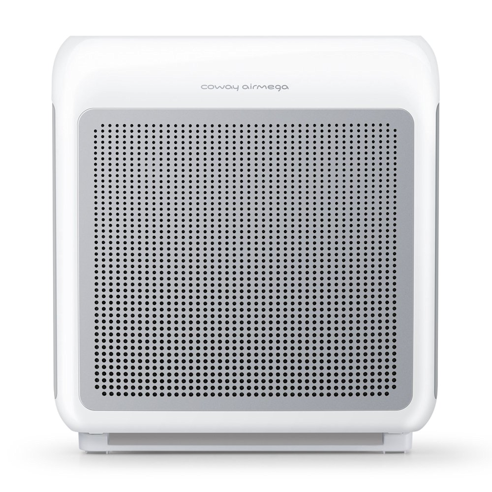 """<h3>Coway Airmega Air Purifier</h3><br>Designed specifically for middle-sized living spaces, this crisp-white purifier with an advanced multi-stage filtration system and pollution sensor is the ideal accent to tuck beside a couch or chair.<br><br><em>Shop <a href=""""https://www.walmart.com/browse/coway/YnJhbmQ6Q293YXkie"""" rel=""""nofollow noopener"""" target=""""_blank"""" data-ylk=""""slk:Coway"""" class=""""link rapid-noclick-resp"""">Coway</a></em><br><br><strong>Coway</strong> Airmega 200M Air Purifier with True HEPA and Smart Mode, $, available at <a href=""""https://go.skimresources.com/?id=30283X879131&url=https%3A%2F%2Fwww.walmart.com%2Fip%2FCoway-Airmega-200M-White-Air-Purifier-with-True-HEPA-and-Smart-Mode-Covers-361-sq-ft%2F768542469"""" rel=""""nofollow noopener"""" target=""""_blank"""" data-ylk=""""slk:Bed Bath & Beyond"""" class=""""link rapid-noclick-resp"""">Bed Bath & Beyond</a>"""