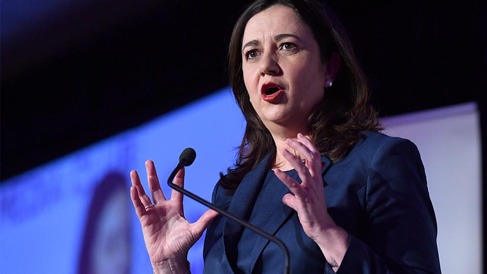 Queensland Premier Annastacia Palaszczuk passionately defended euthanasia during the debate. Source: AAP