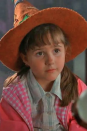 <p>Emily was only a little girl when she was cast as Sophie Piper, Marnie's younger sister. Even still, Emily started acting when she was five, playing Alicia in <em>Fell's Redeemer. </em>The movie came out a year before <em>Halloweentown</em> made its debut.</p>