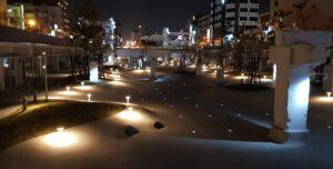 """The night scene of """"The Spring."""" (Courtesy of Tainan City Government)"""
