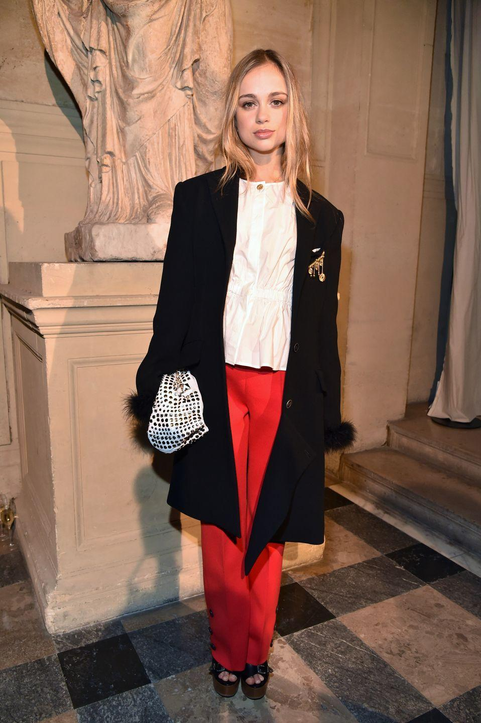 "<p>In 2016, Lady Amelia became <em><a href=""http://www.tatler.com/gallery/introducing-amelia-windsor"" rel=""nofollow noopener"" target=""_blank"" data-ylk=""slk:Tatler"" class=""link rapid-noclick-resp"">Tatler</a></em> magazine's first royal cover girl since Princess Eugenie was featured eight years prior. The granddaughter of Queen Elizabeth II's cousin, Prince Edward, Duke of Kent, Amelia is currently 36th in line to the British throne. Her <a href=""https://www.instagram.com/amelwindsor/?hl=en"" rel=""nofollow noopener"" target=""_blank"" data-ylk=""slk:Instagram"" class=""link rapid-noclick-resp"">Instagram</a> account looks exactly what you'd expect any 22-year-old royal's Instagram account to look like: her photos include trips to museum, New York City, selfies, and stunning views of Paris. If you dig deep enough, you'll run into Amelia's gram of her great uncle Charles, aka the ""best great-uncle ever.""</p>"