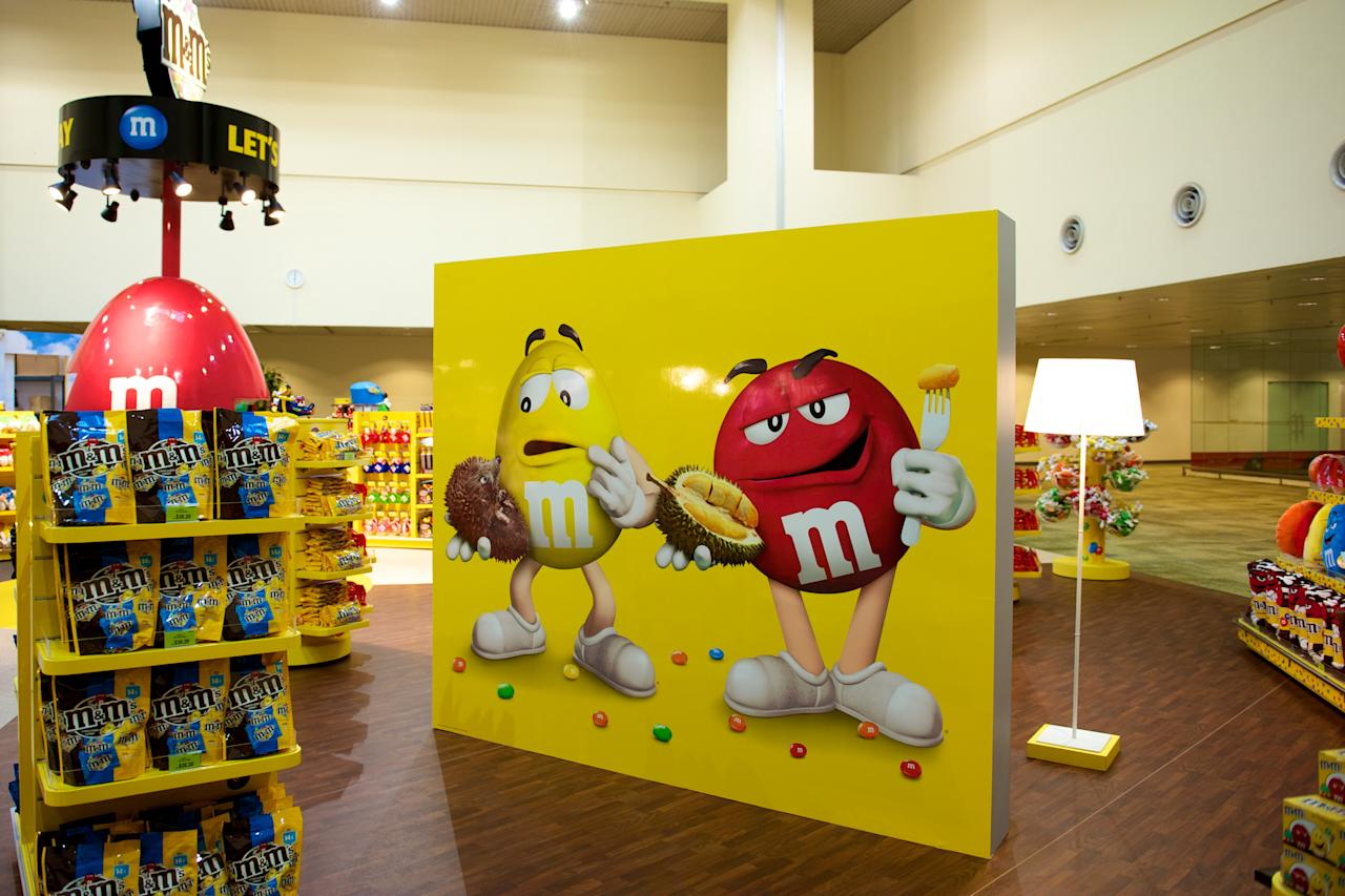 Sweet treats galore at Changis new M&Ms store 1